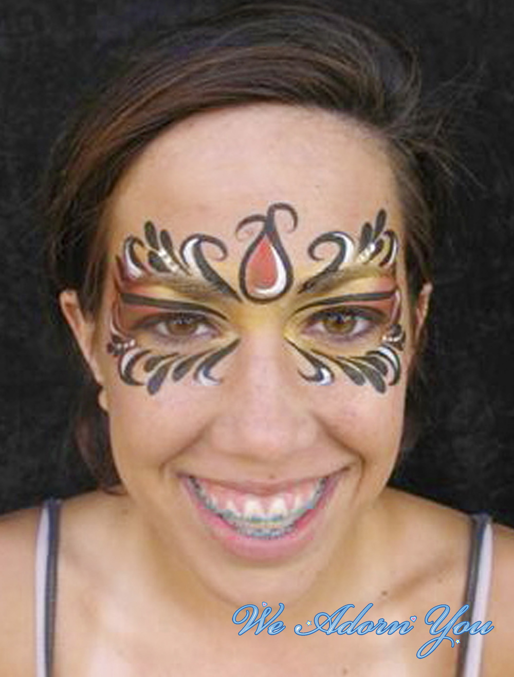 Face Painting Girl Mask- We Adorn You.jpg