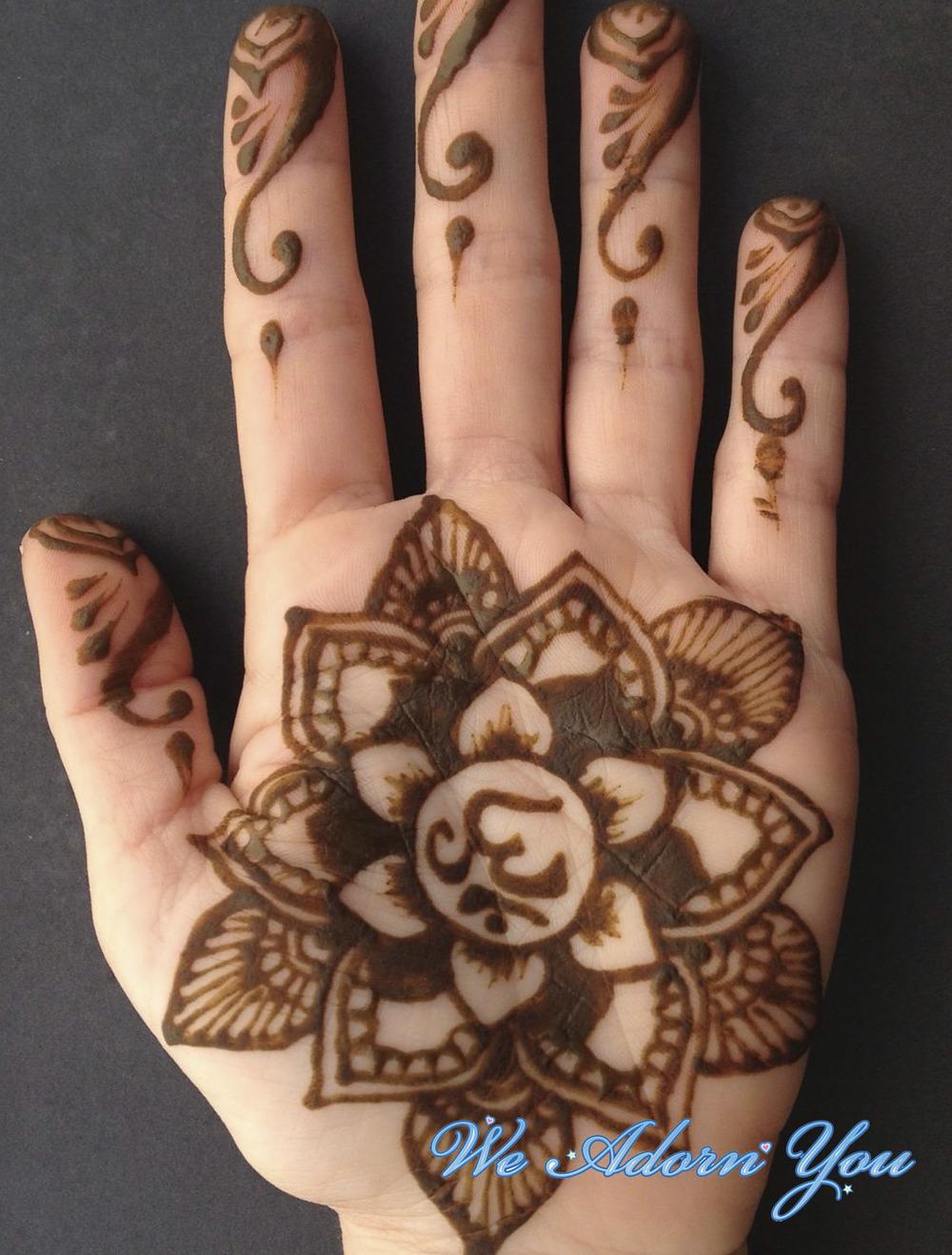 Henna Jagua Tattoos We Adorn You