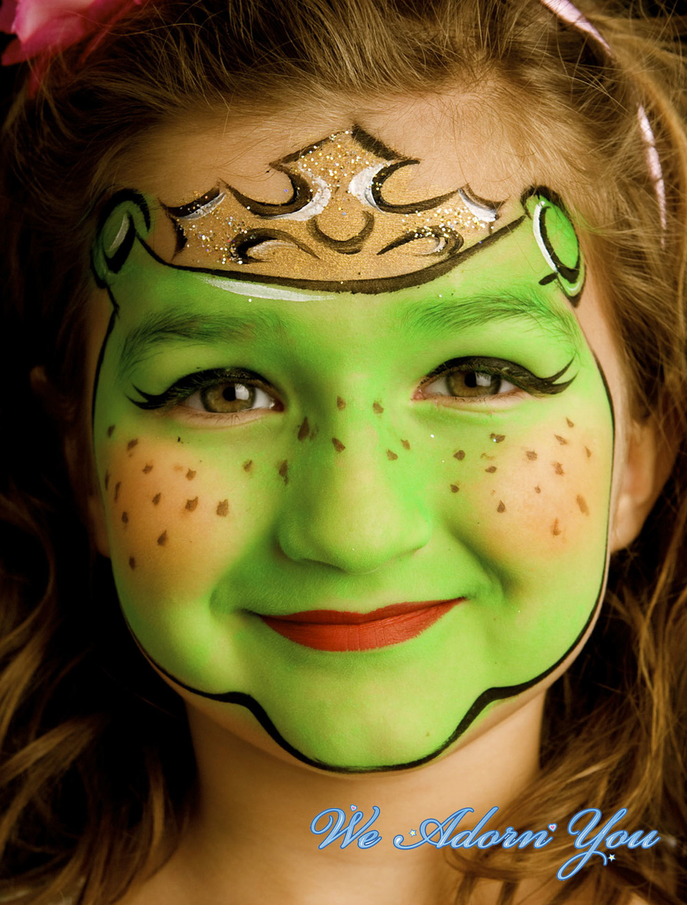 Face Painting Shrek Girl- We Adorn You.jpg