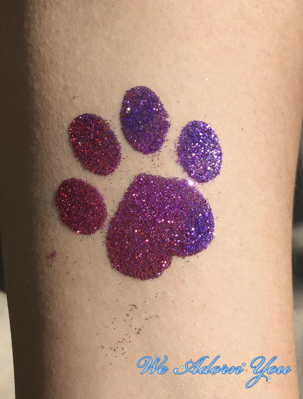 Glitter Tattoos Paw- We Adorn You.jpg