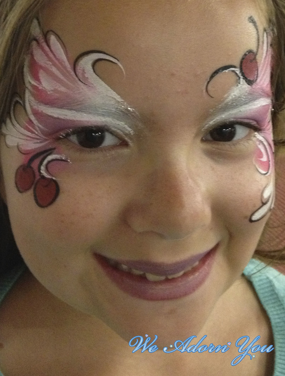 Face Painting Cherries- We Adorn You.jpg