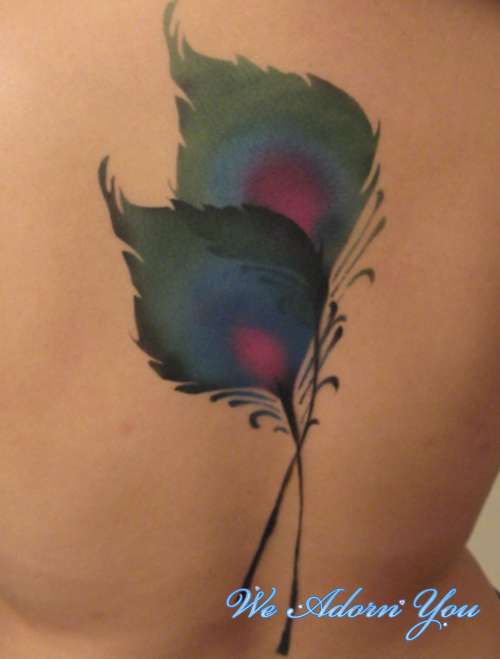 Body Painting Peacock Feather - We Adorn You.jpg