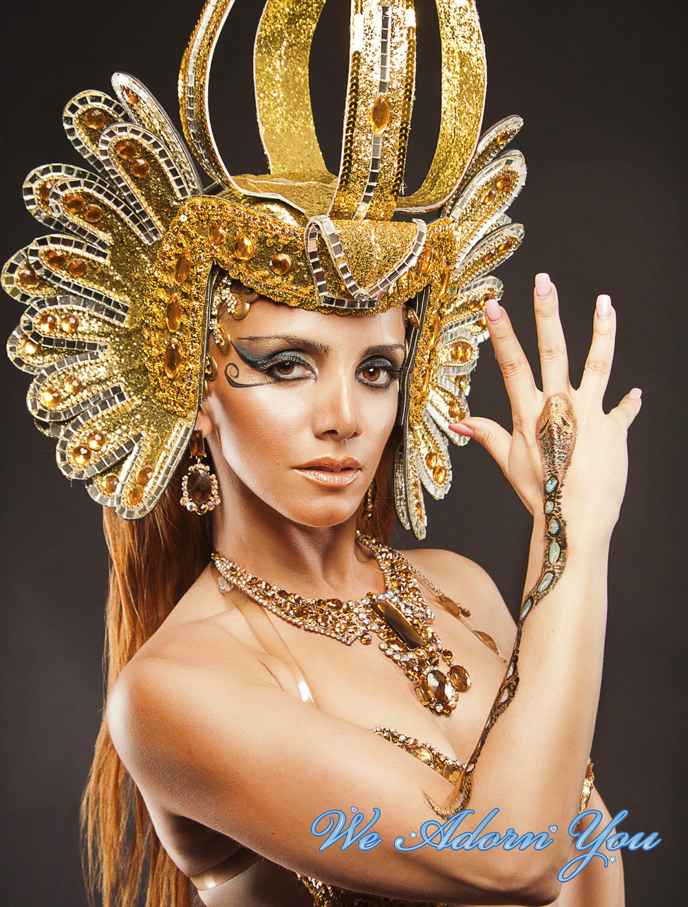 Body Painting Anna Pipoyan Cleopatra - We Adorn You.jpg