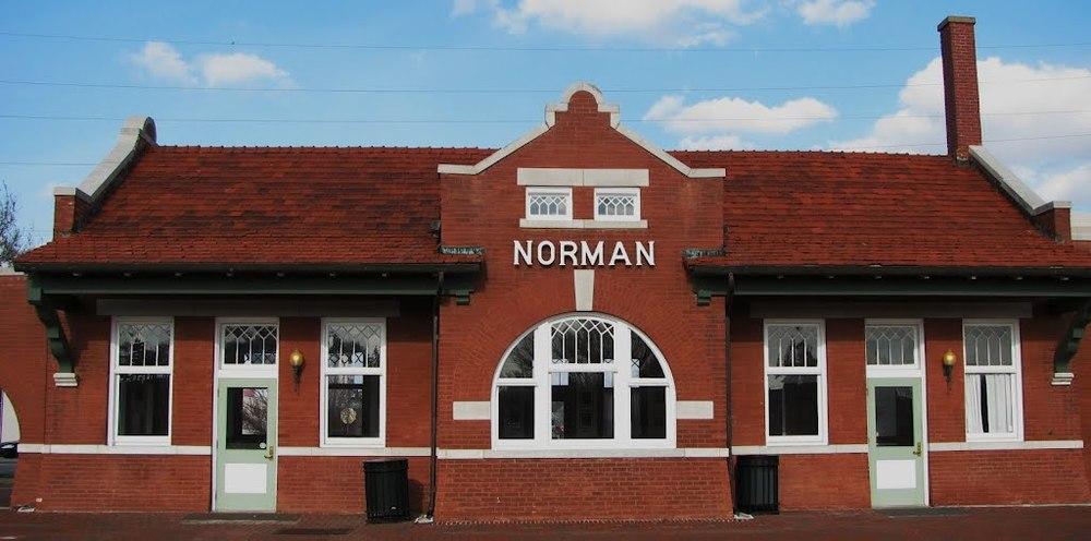 Norman Train Depot