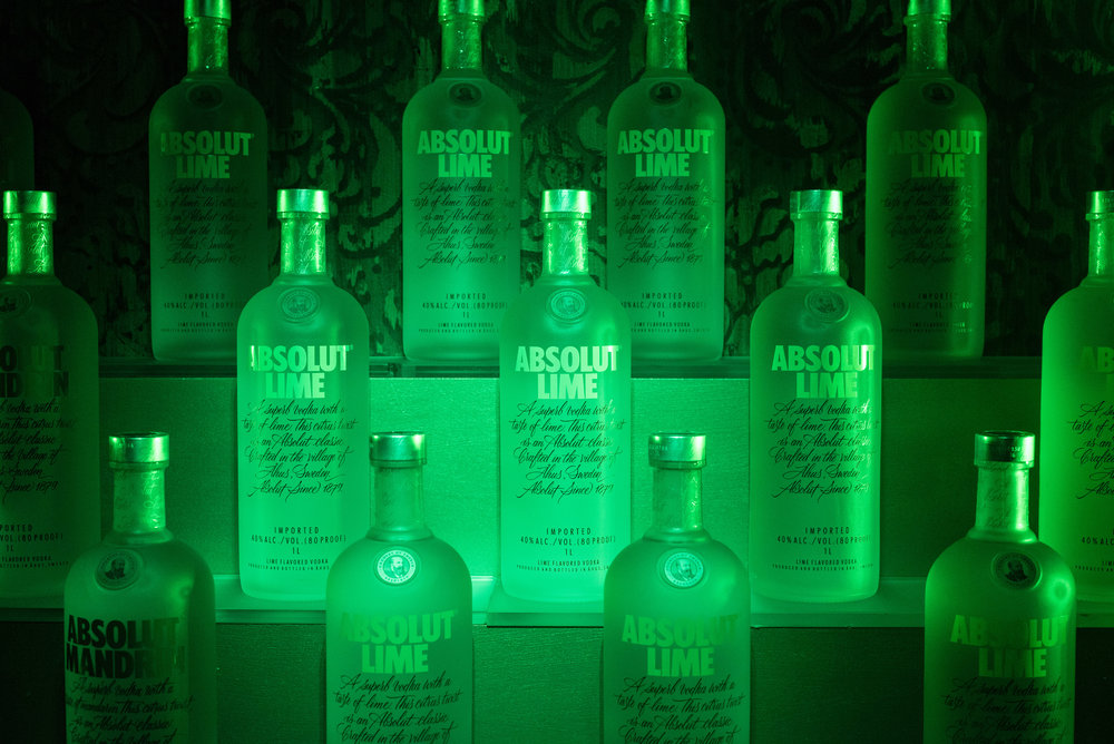 absolut lime at sax dc