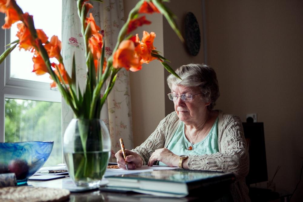'The Writer' © Benjamin Youd