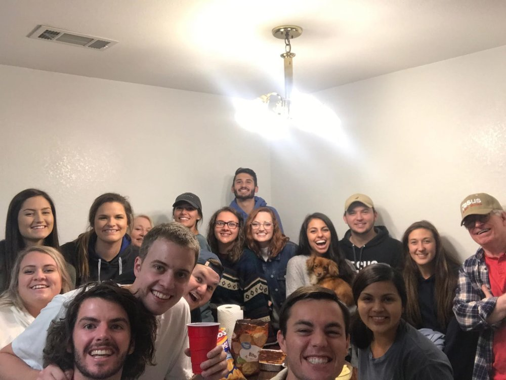 "The ""Heart of God"" Small Group having a great night! 10-16-18"