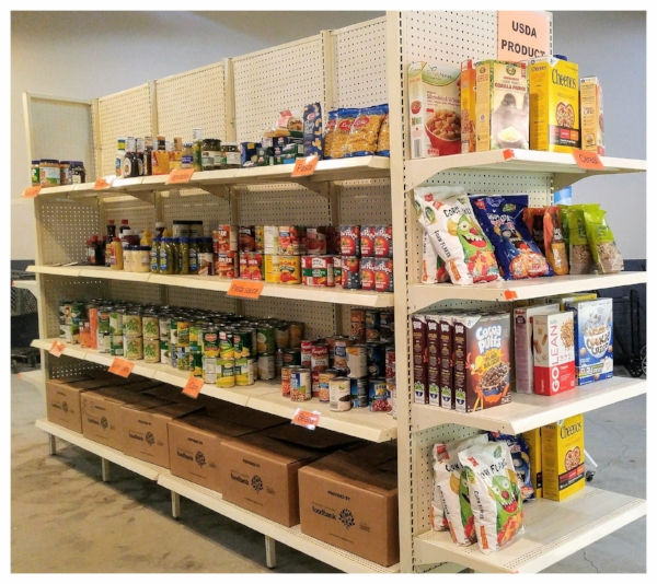 Stationary Food Pantry Opens Mt Pleasant Area Community Foundation