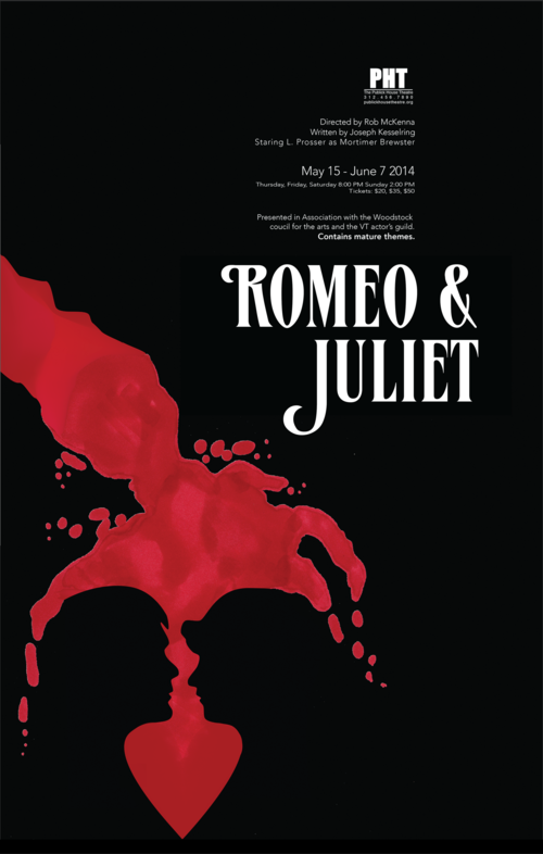Romeo Juliet Theater Poster