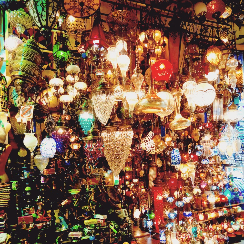 the grand bazaar  IN ISTANBUL, TURKEY  - M.QUIGELY