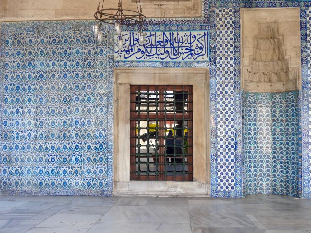 Rüstem Pasha Mosque   IN ISTANBUL, TURKEY - M.QUIGELY