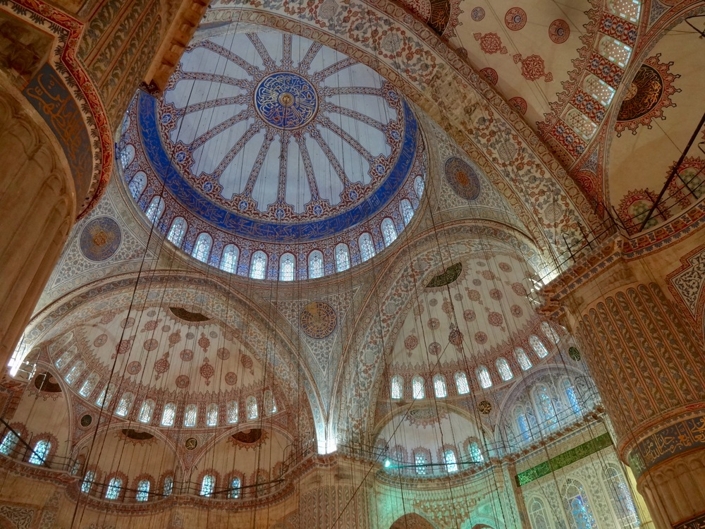 the blue mosque    IN ISTANBUL, TURKEY  - M.QUIGELY