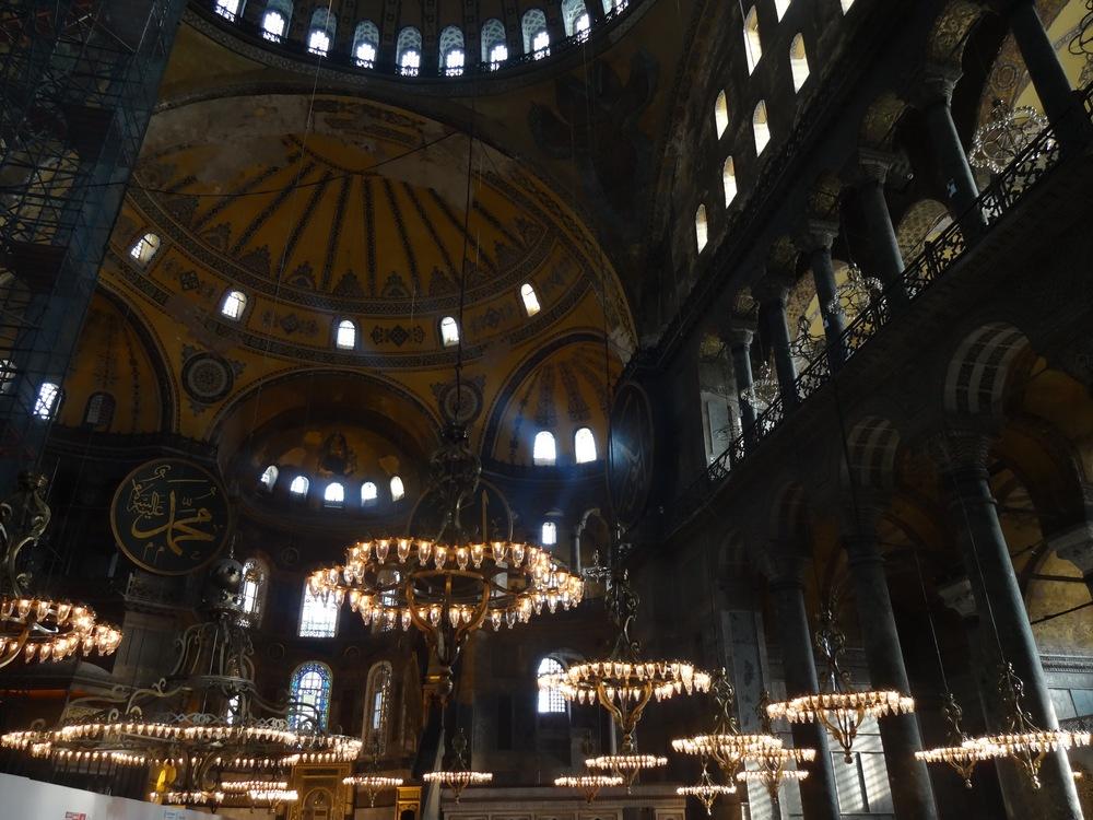 hagia sophia  IN ISTANBUL, TURKEY - M.QUIGELY