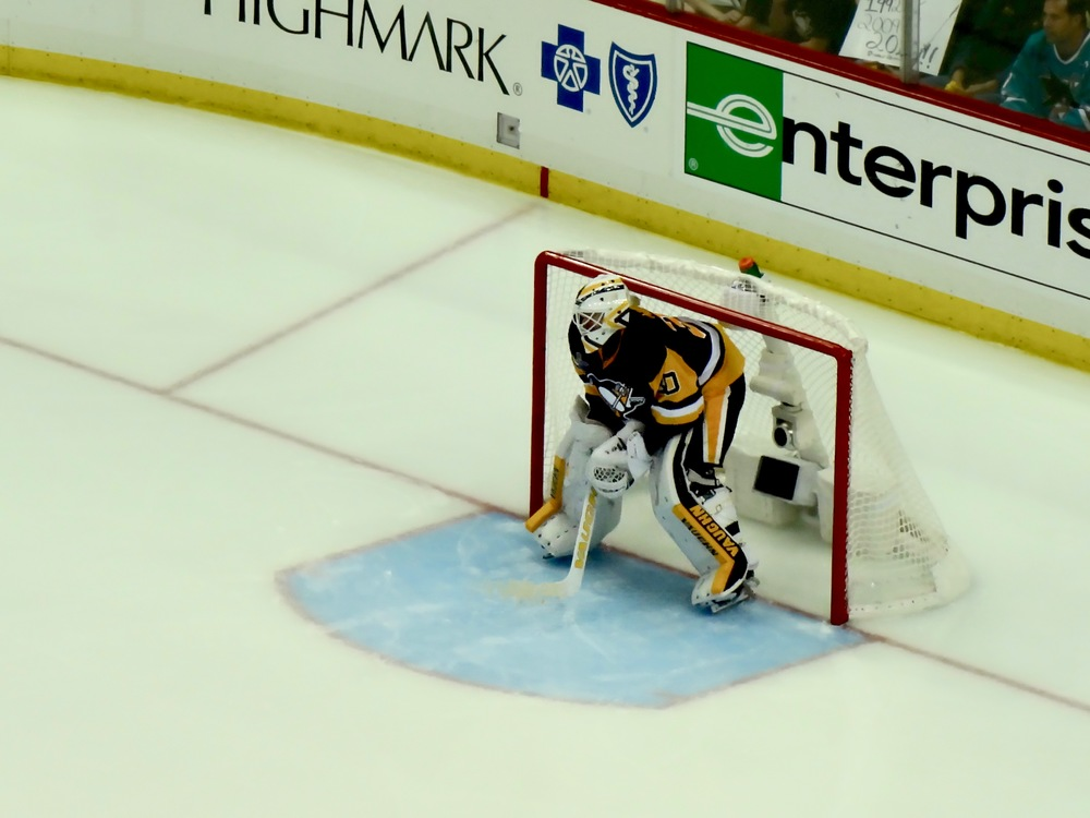 Pittsburgh Pens vs. San Jose Sharks:Game 1 -Consol Energy Center - Pittsburgh, PA - M.Quigley
