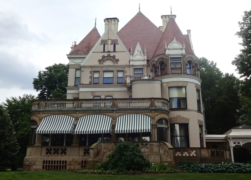 THE CLAYTON, FORMER RESIDENCE OF HENRY CLAY FRICK AND FAMILY IN PITTSBURGH - M.QUIGLEY