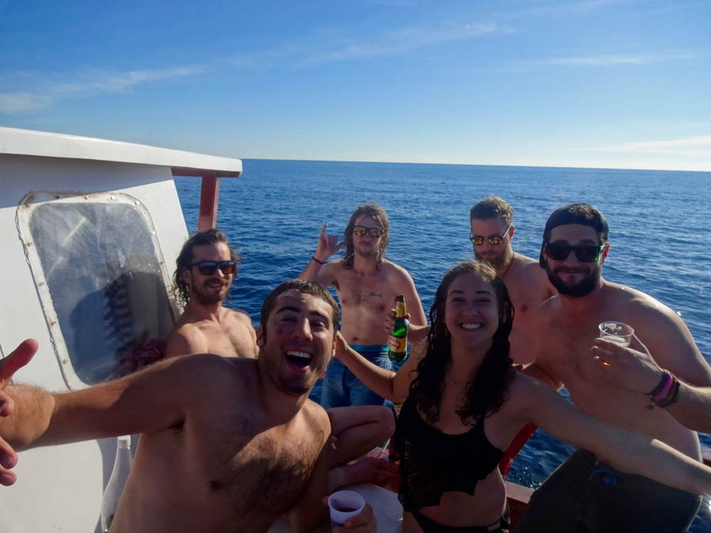 a booze cruise in dubrovnik was a priority for us, no shame. dubrovnik, croatia -m.quigley