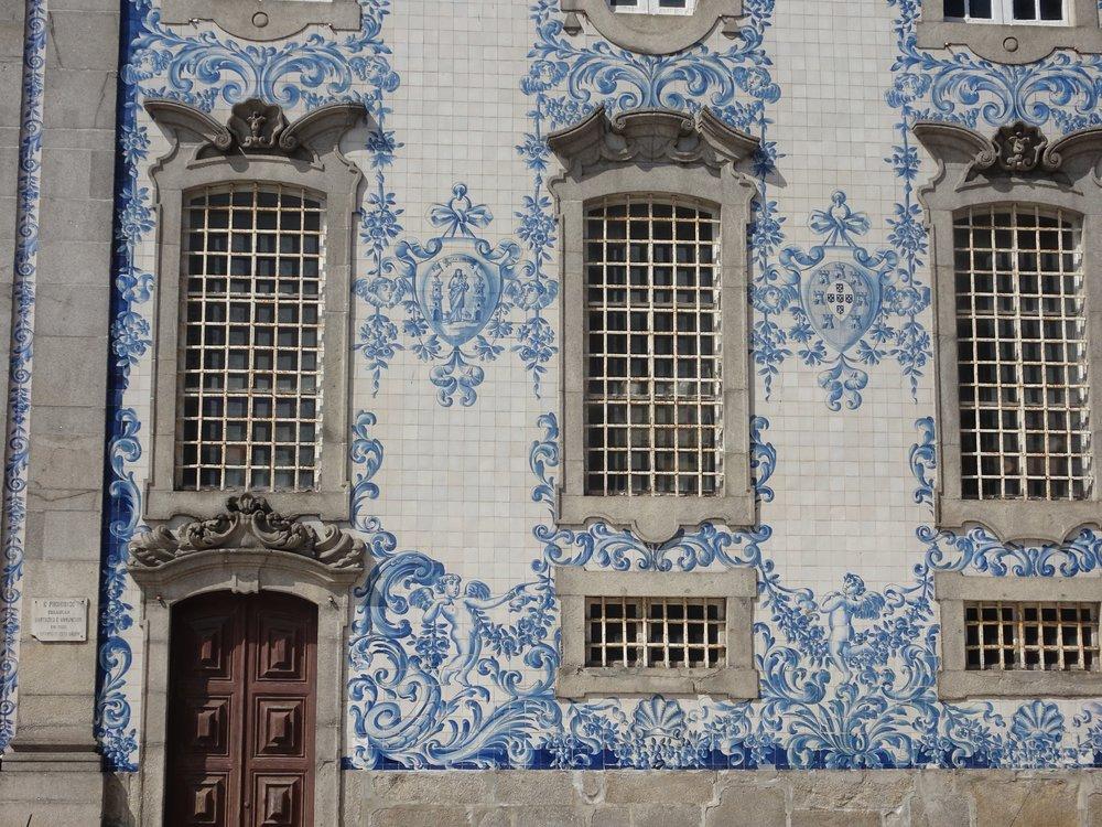 Azulejos in porto, portugal - m.quigley