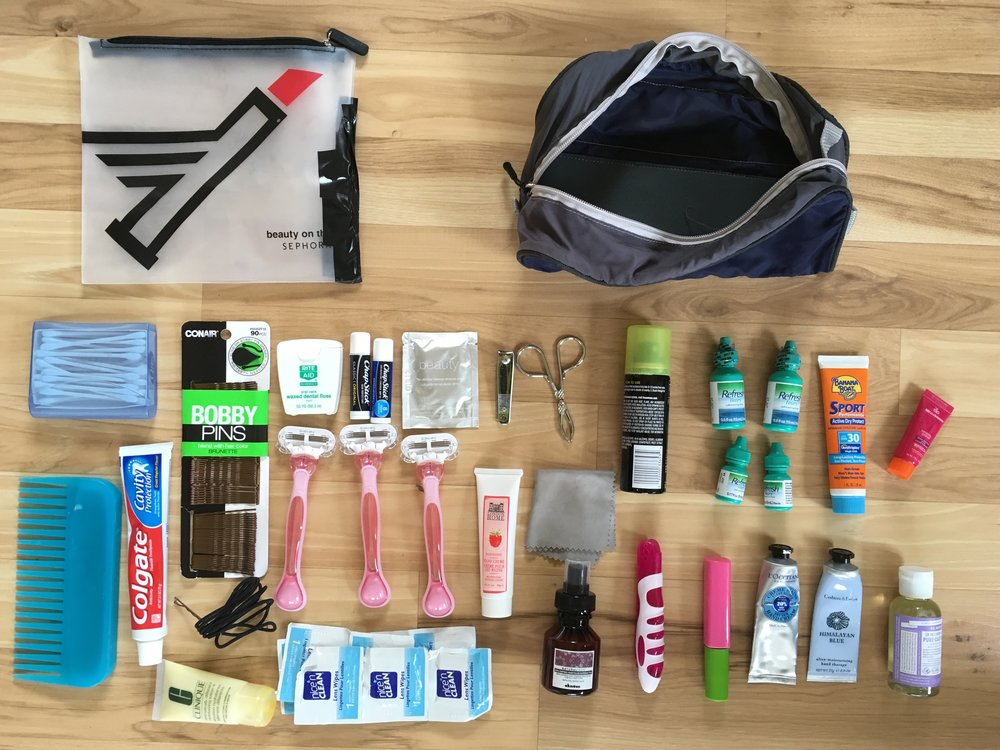 backpacking toiletries