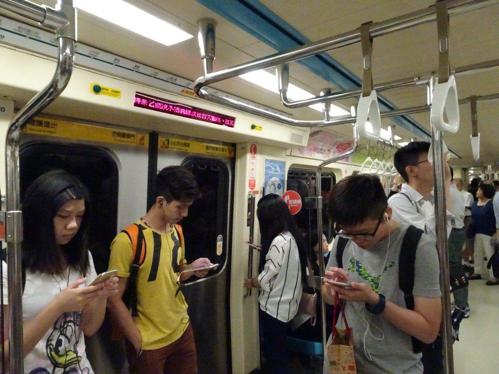 taipei MRT, taipei, taiwan - m.quigley