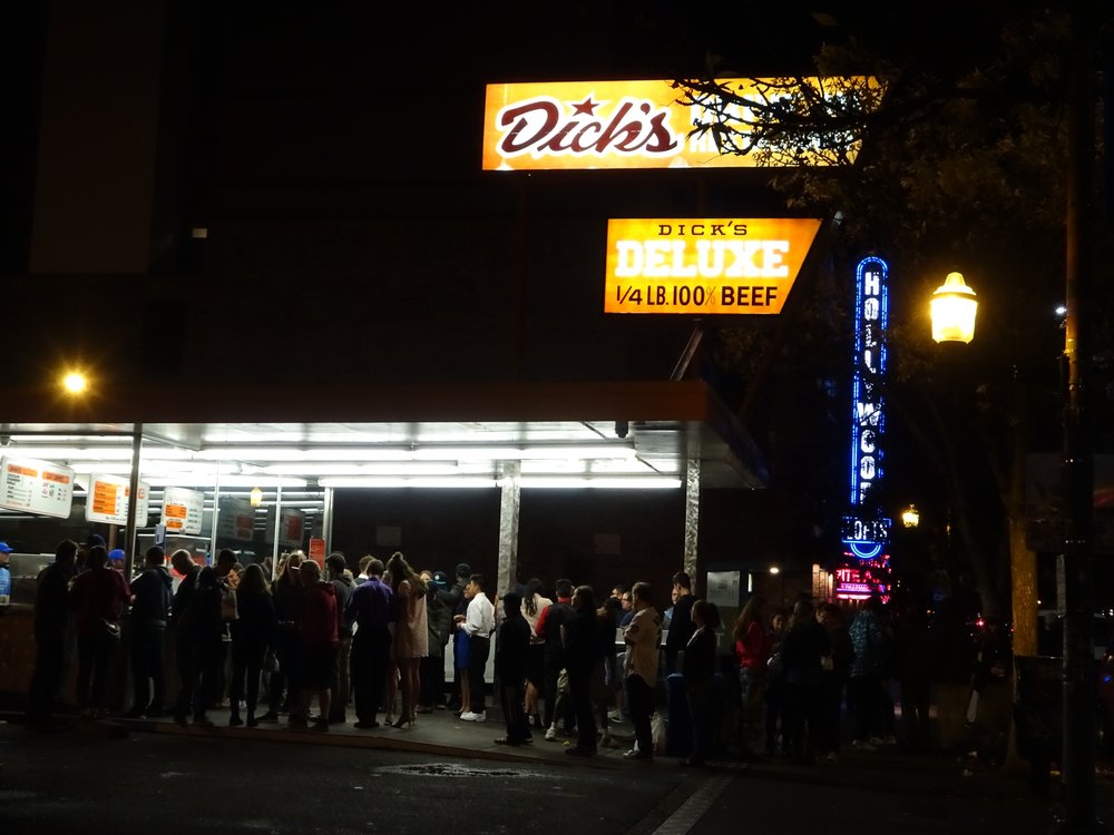 dick's, seattle, washington - m.quigley