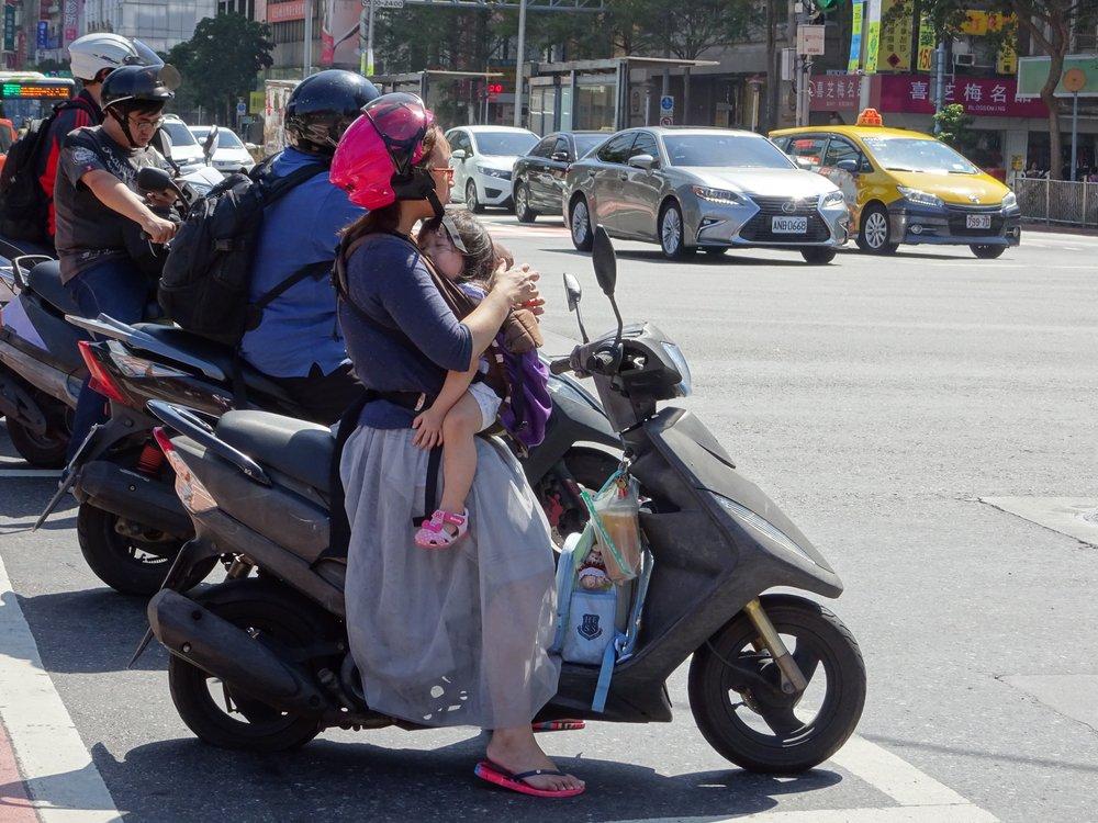 bikes in TAIPEI, TAIWAN - M.QUGLEY