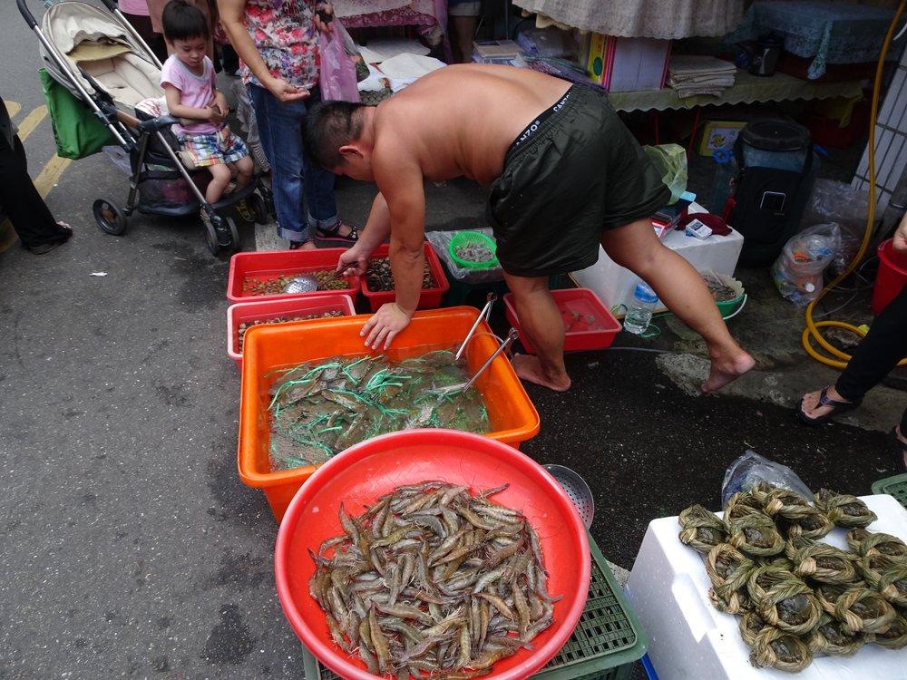 day market in taipie, taiwan - m.quigley