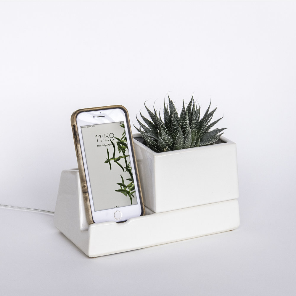 phone dock - stak ceramics