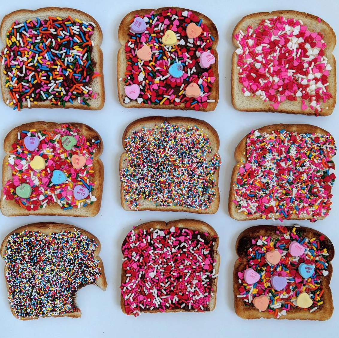Easy Valentine's Day Breakfast - Fairy Toast