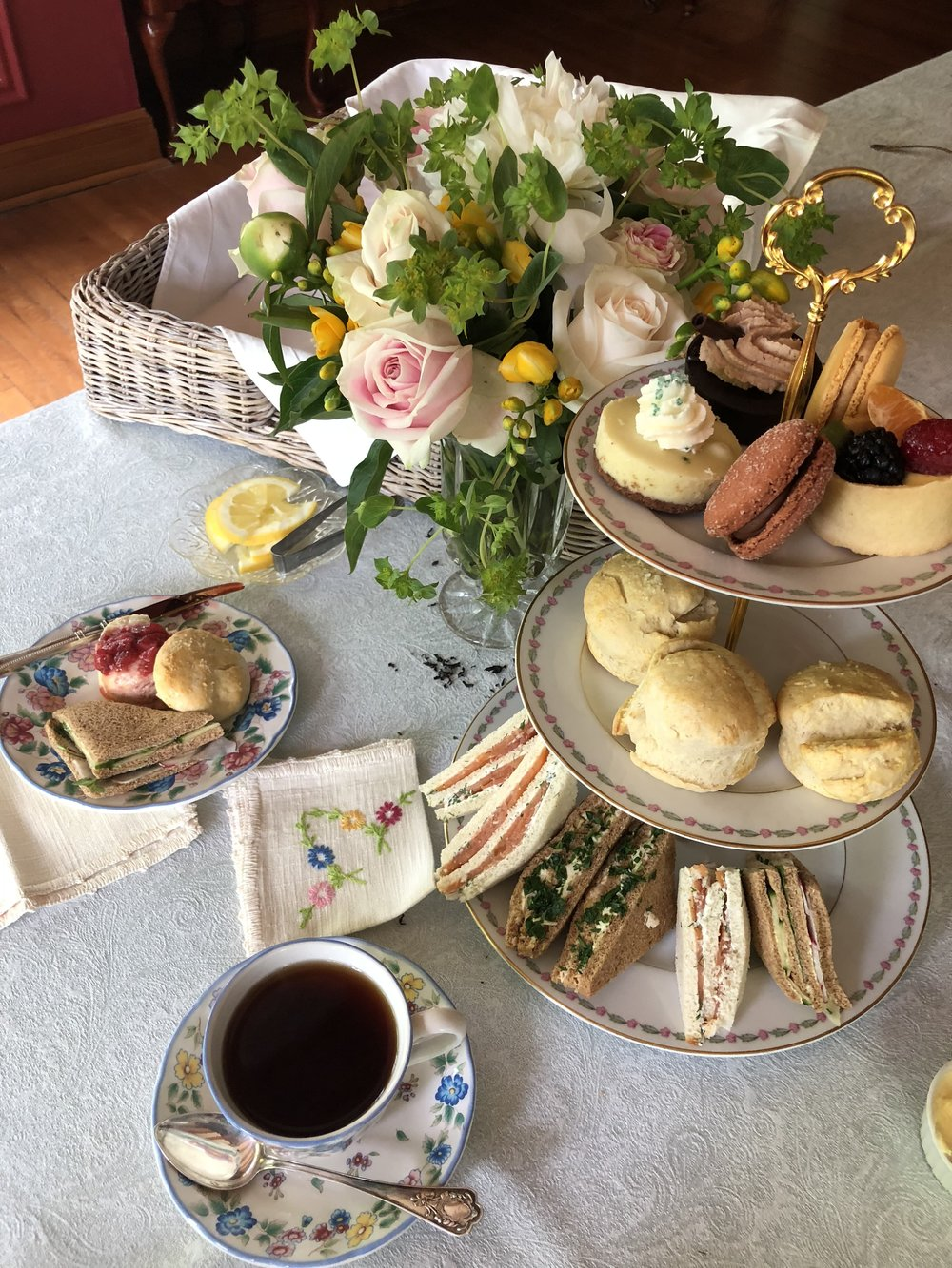 royal wedding tea party