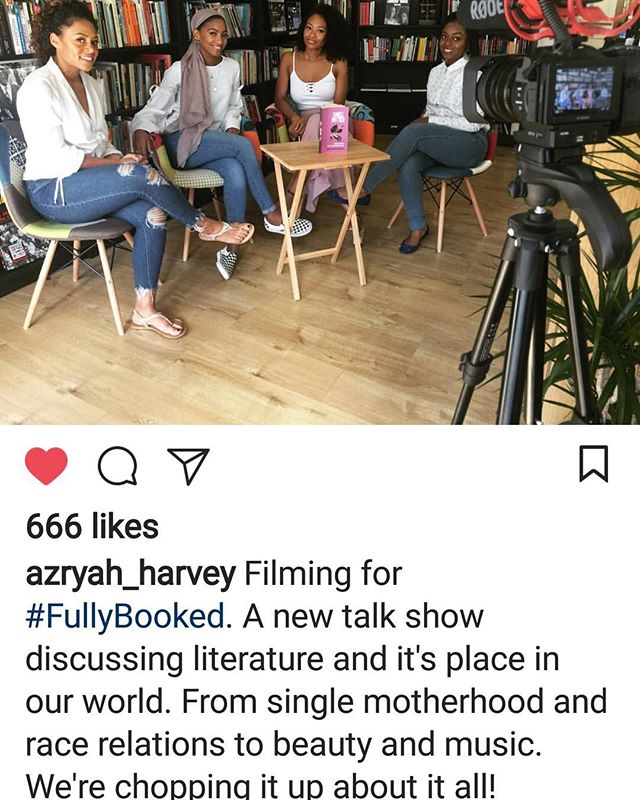 ::::::::::::: ::::::::::::::::: :::::::::::::::: :::::::::: Repost from @azryah_harvey  so proud because you know I love literature and books. Cannot wait to see this. See  info above🖕 #bookclub #books