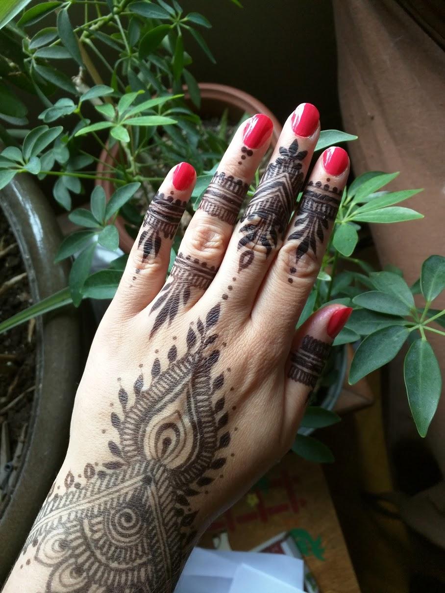 Henna/Jagua mix stain