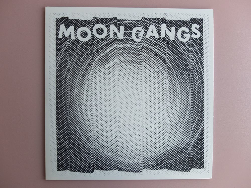 Moon Gangs Screen Printed Record Sleeves & Vinyl