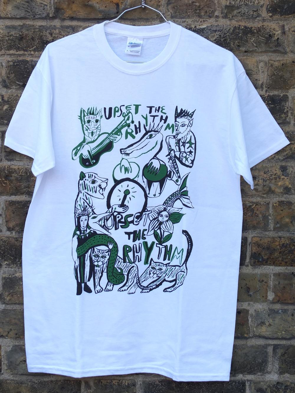 Upset the Rhythm Screen Printed T-Shirts