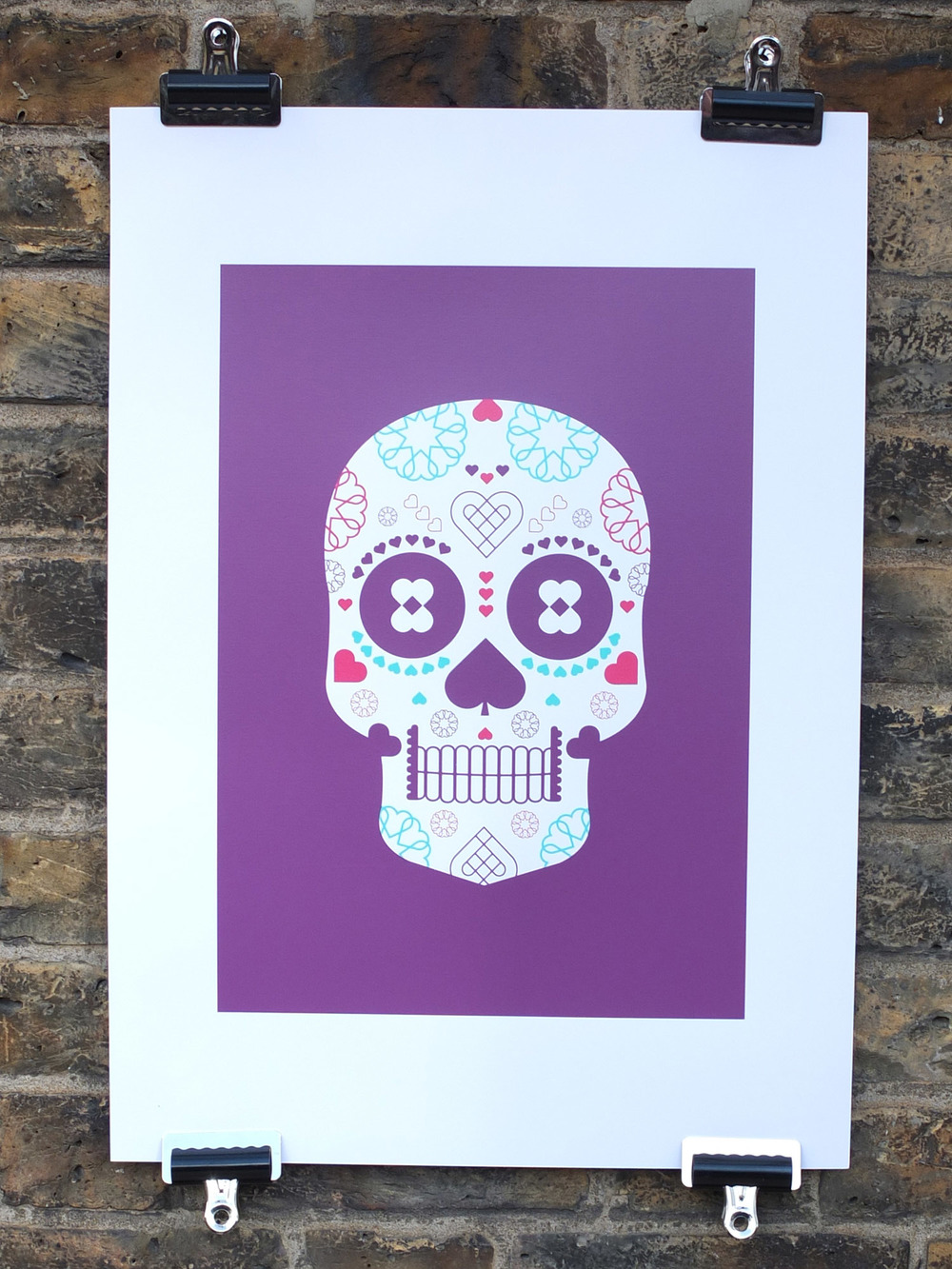 Cordello Home Skull Screen Print