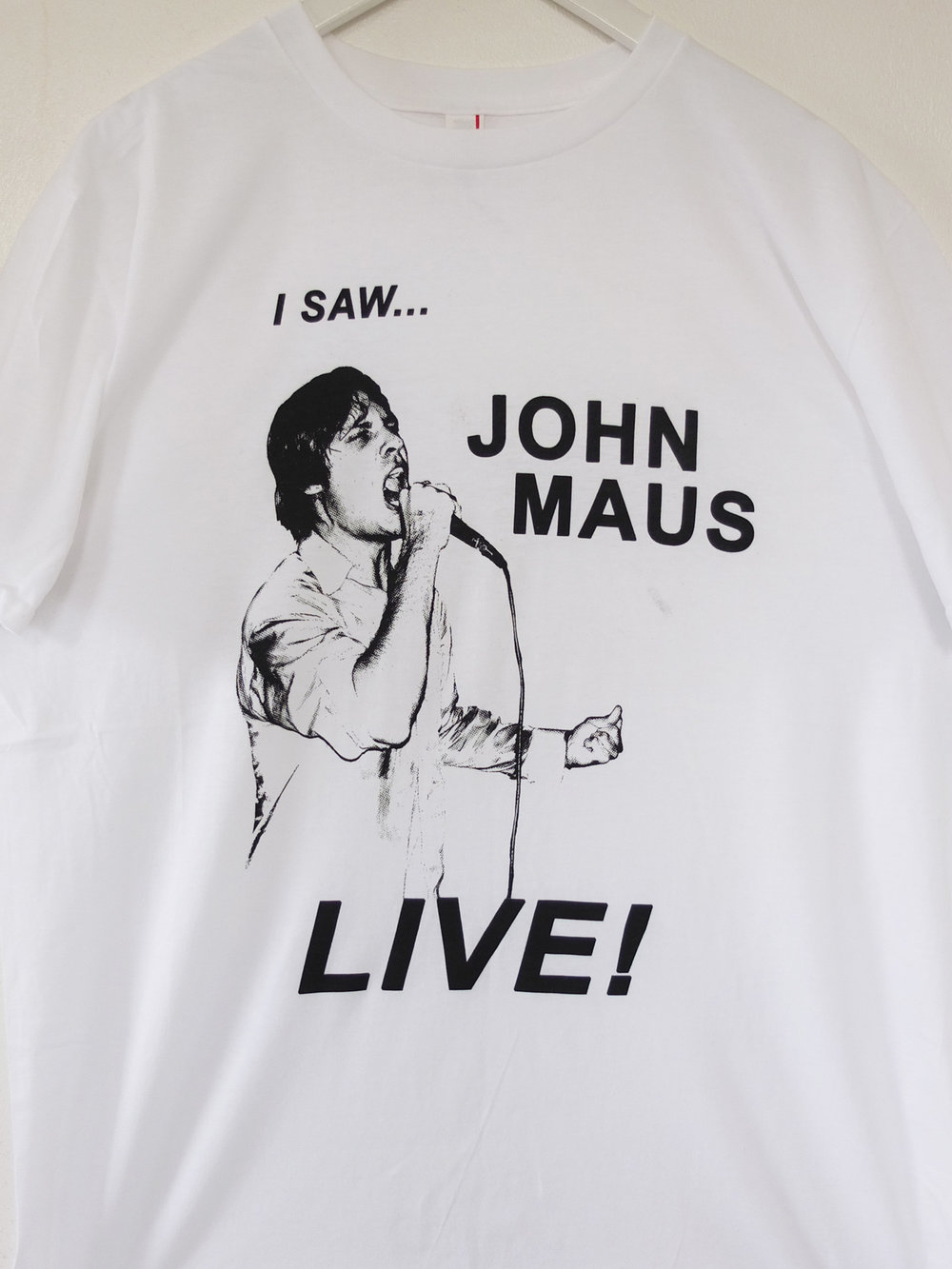 John Maus Tees The Positive Press Water Based Screen Printing London