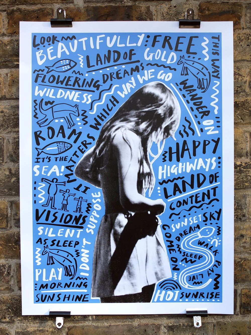 Rose Stallard Walkabout Film Four Somerset House Screen Printing
