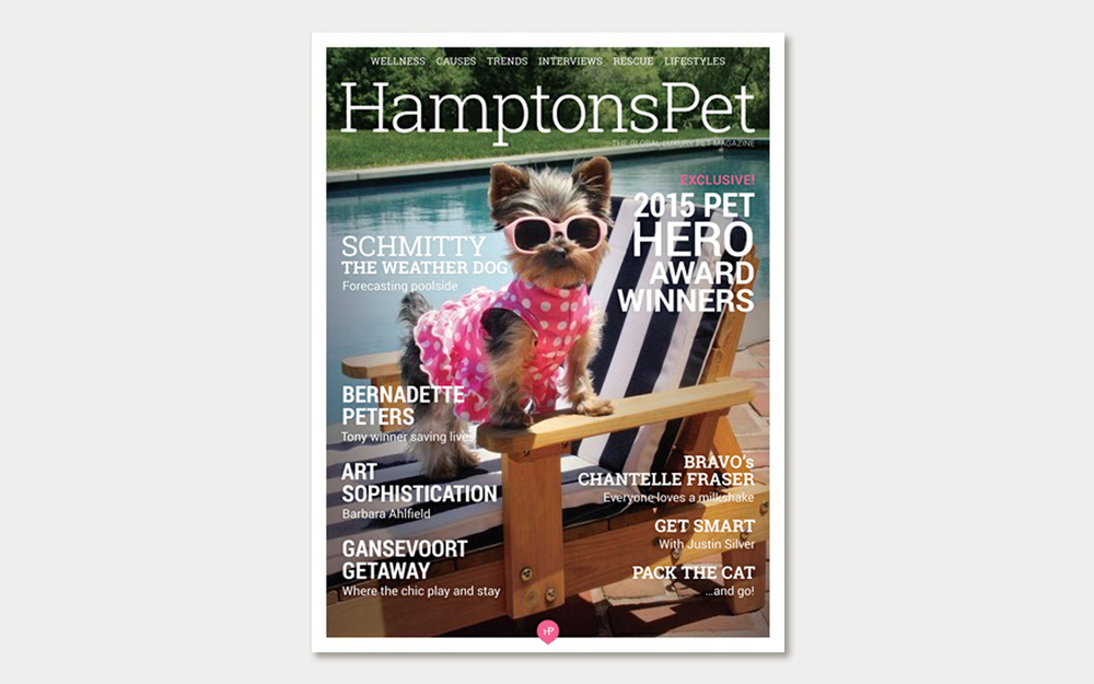 hamptons pet magazine Barbara Tyler Ahlfield