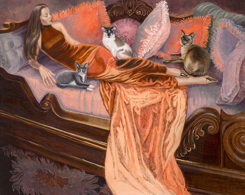 Feline Fashion Harem