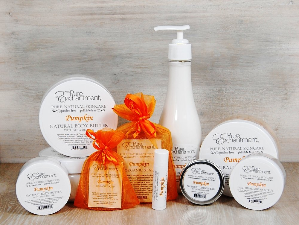 Save 20% off Pumpkin products throughout October!
