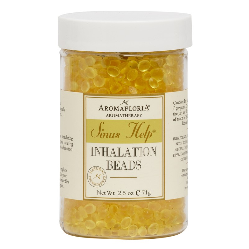AROMAFLORIA  SINUS HELP INHALATION BEADS