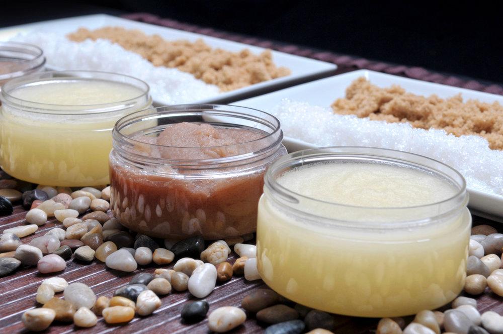 all natural body scrubs exfoliate winter dry skin