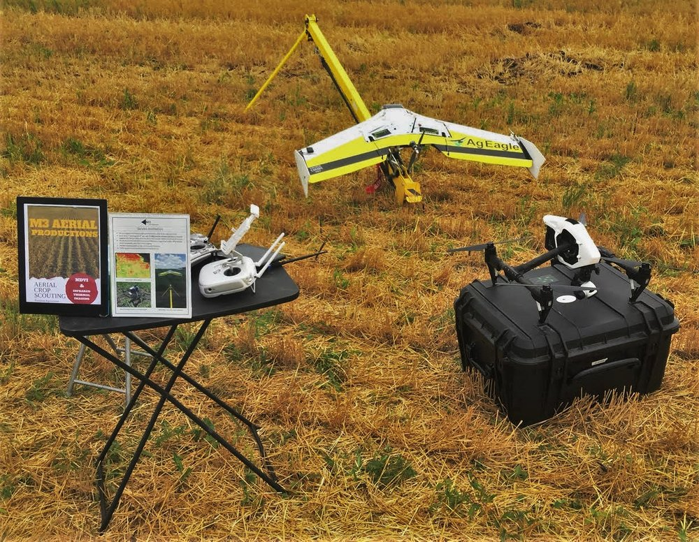 Company training on fixed wing and multi-rotor UAV systems. Hardware and software, end-to-end training experience.
