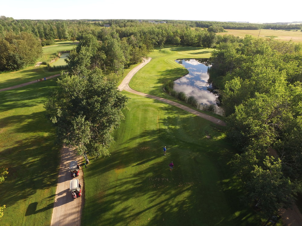 Winnipeg Aerial Photography for Golf Courses