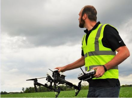 UAV Liability Insurance coverage is mandatory to operate commercially.