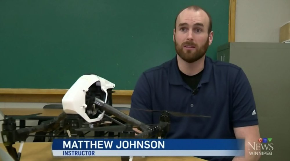 CTV News Feature on Drone Technology and the Drone Club at Elmwood High School
