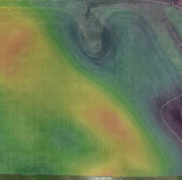 elevation map using aerial uav data capture for image analysis.JPG