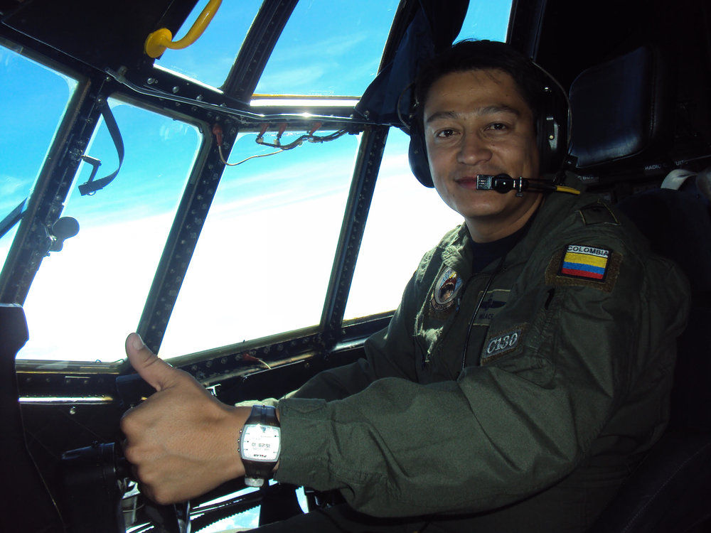 Jovanny Sanchez, Instructor, Curriculum Developer & Pilot-In-Command