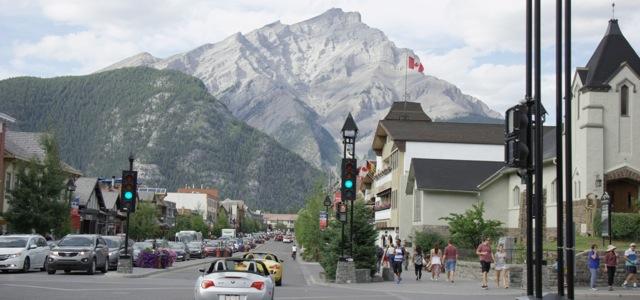 Main Street, Banff, Alberta, Canada