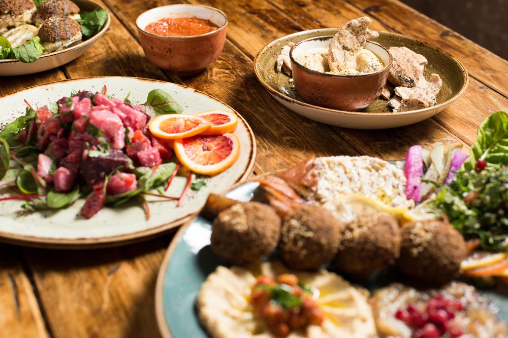 Vegetarian Falafel Platter