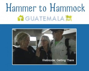 Hammer to Hammock for Zoomer Magazine On assignment for Zoomer Magazine, Rebecca Field Jager joined 18 Canadians and headed down to Guatemala to participate in a unique style of vacation. Watch the video journal of her adventure.